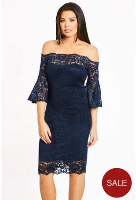 Womens Delaney Short Sleeve Dress Jessica Wright 8jlKgm8u