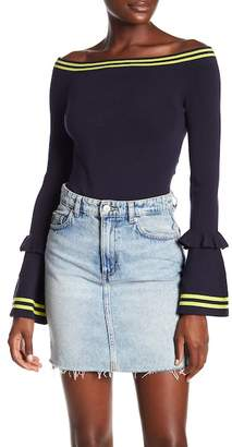 KENDALL + KYLIE Kendall & Kylie Off the Shoulder Bodysuit