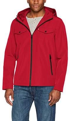 Levi's Men's Arctic Cloth Performance Hooded Rain Jacket