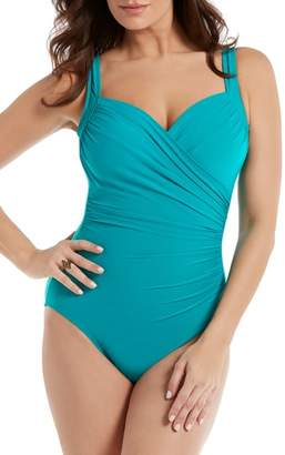 Miraclesuit R) Must Have Sanibel One Piece Swimsuit