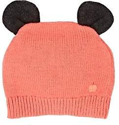 The Bonnie Mob Rosco Cotton-Cashmere Hat-Orange