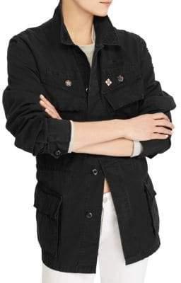 Ralph Lauren Patchwork Military Jacket