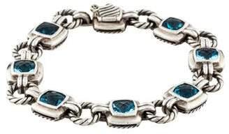 David Yurman Topaz Renaissance Link Bracelet