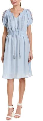 Stellah Cinched Waist A-Line Dress