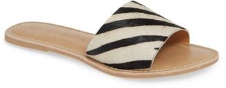 Coconuts by Matisse Cabana Genuine Calf Hair Slide Sandal