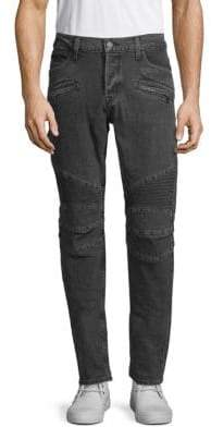 Hudson The Blinder Distressed Biker Jeans