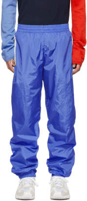 Moncler Genius 2 1952 Blue Nylon Track Pants