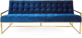 Jonathan Adler Goldfinger Three-Seat Sofa
