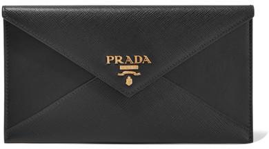 pradaPrada - Leather Wallet - Black