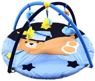 MonkeyJack Bear Baby Musical Play Mat Activity Gym Playmat Playcentre Soft Mat Toys