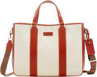 Dooney & Bourke Toscana Canvas East West Delancey Tote