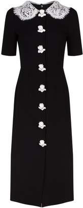 Dolce & Gabbana Lace Trim Angel Dress