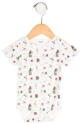 Oeuf Girls' Abstract Print All-In-One w/ Tags