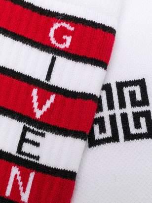 Givenchy Striped socks
