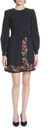 Ted Baker Silia Kirstenbosch Embroidered Dress