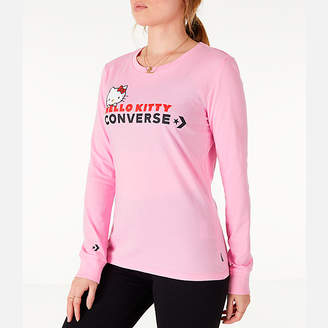 Converse Women's x Hello Kitty Long-Sleeve T-Shirt