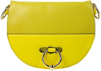 J.W.Anderson Latch Yellow Leather Handbag