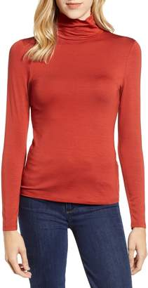 French Connection Fira Mock Neck Top