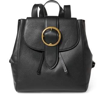 Ralph Lauren Pebble Leather Lennox Backpack