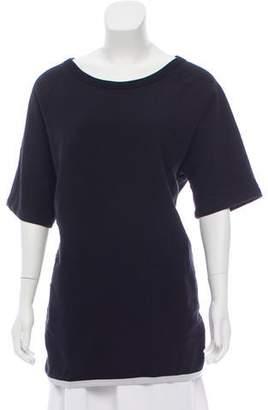 Dries Van Noten Short-Sleeved Tunic Top