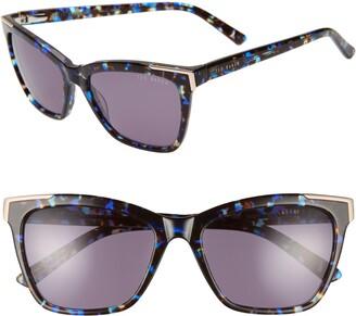 Ted Baker 54mm Square Sunglasses