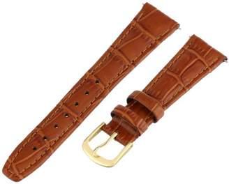 Hadley-Roma Women's LSL135RR-180 18-mm Alligator Grain Leather WatchStrap