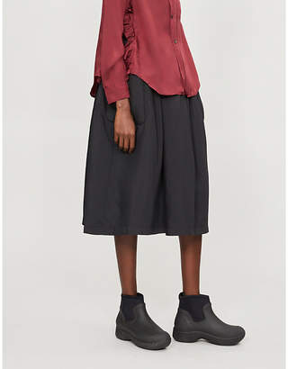 Comme des Garcons Comme Padded woven skirt