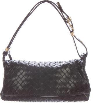 Bottega VenetaBottega Veneta Intrecciato Flap Bag