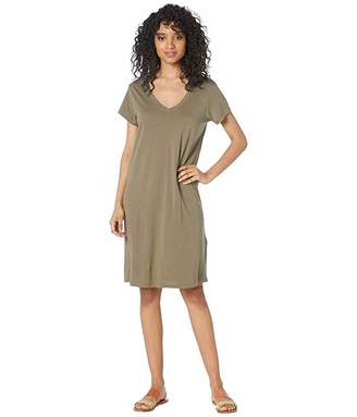 Michael Stars Cotton Modal Cassandra Tee Dress