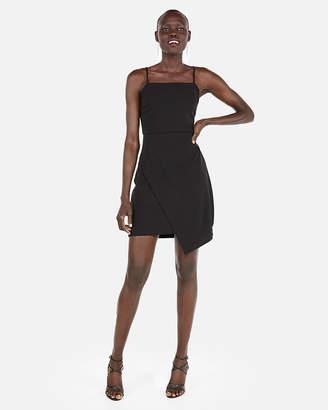 Express Asymmetrical Skirt Cami Sheath Dress