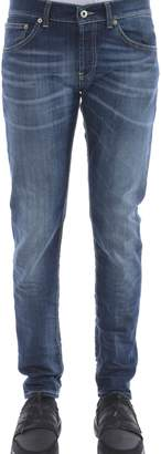 Dondup Faded Straight Leg Jeans