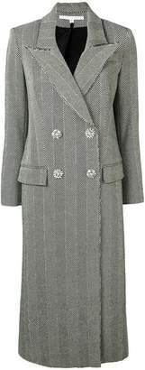 Veronica Beard double breasted herringbone coat