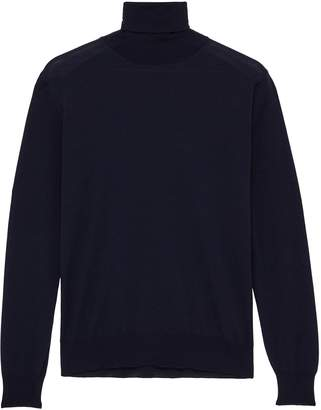 Lardini Wool turtleneck sweater