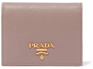 Prada Textured-leather Wallet - Pink