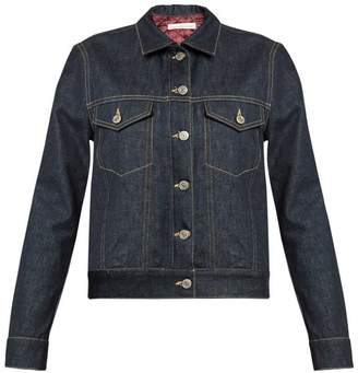 Golden Goose Tea padded-lining denim jacket