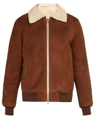 De Bonne Facture - Shearling Jacket - Mens - Brown