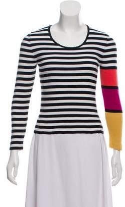 Sonia Rykiel Striped Long Sleeve Sweater