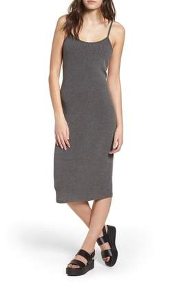 BP Rib Knit Midi Dress