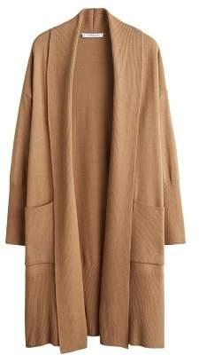 Violeta BY MANGO Pocket long cardigan