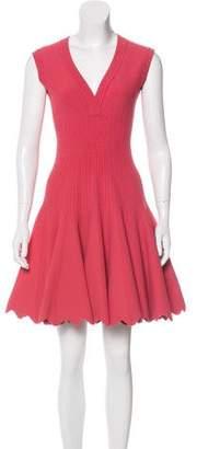 Alaia Sleeveless A-Line Dress