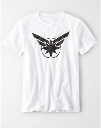 American Eagle AE X Marvel Captain Marvel Graphic Tee