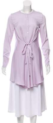 Marissa Webb Silk Button-Up Top