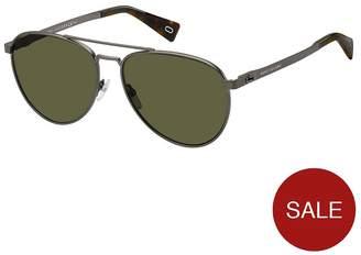 Marc Jacobs Black Aviator Sunglasses