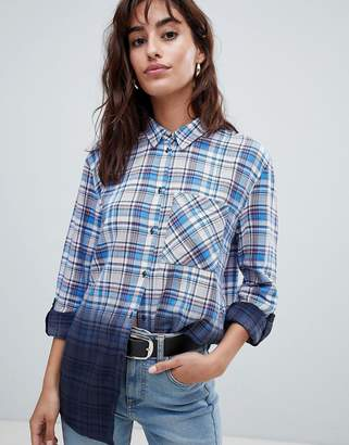 Esprit Ombre Check Shirt