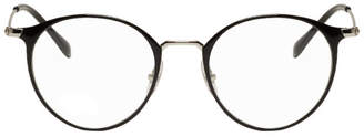 Ray-Ban Black and Silver Round RB6378 Glasses