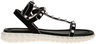 Valentino Sandalo Flat Stud Sole