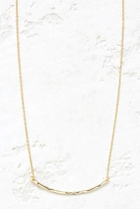 Gorjana Gold Taner Bar Small Necklace Gold