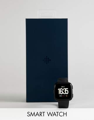 Fitbit Versa Smart Watch in Black