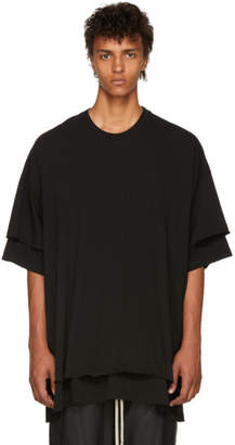 Julius Black Double Layered T-Shirt