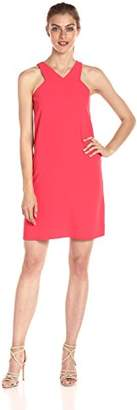 Armani Exchange A|X Women's X Neck Line Above The Knee Dress